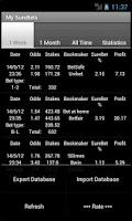 Screenshot of Bet and Surebet Calculator