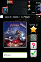 Screenshot of Cover Metal Quiz