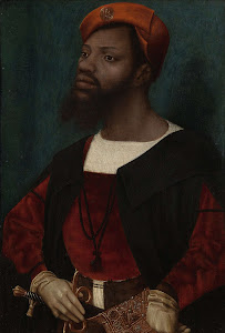 RIJKS: Jan Jansz Mostaert: Portrait of an African Man (Christophle le More?) 1530
