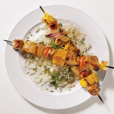 Pork and Pineapple Kebabs
