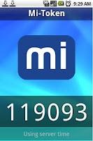 Screenshot of Mi-Token