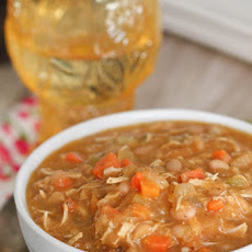White Bean and Turkey Pumpkin Chili
