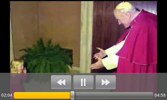 Screenshot of Papa Giovanni Paolo II