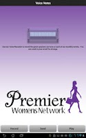 Screenshot of Premier Women's Network
