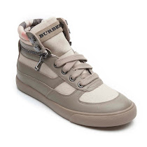 Burberry Removeable Zip Trainer HIGH TOP