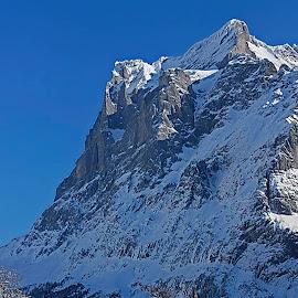 Eiger by Wilson Beckett - Landscapes Mountains & Hills