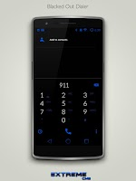 Screenshot of JB Extreme Blue CM12 CM11