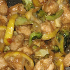 Lemon-Ginger Chicken With Broccoli