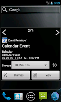 Screenshot of Notify - Gingerbread Theme