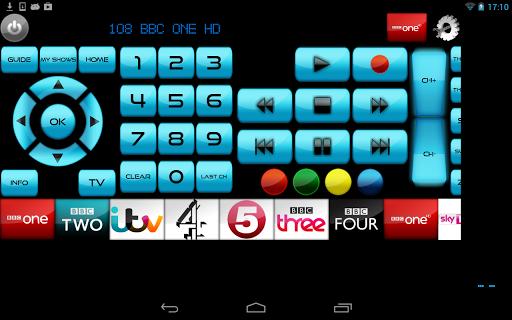 Universal Remote Wi-Fi/IR MyAV - screenshot