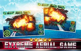Screenshot of Jet Warrior Bomber! Boom Beach