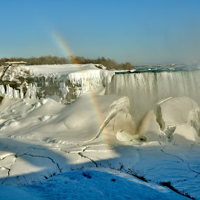 NIAGRA FALLS...HORSESHOE FALLS by Rhonda Rossi - Landscapes Waterscapes (  )