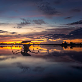 ..dawn on earth .. by Rizki Mahendra - Transportation Boats