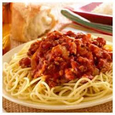 Mama's Easy Awesome Meat Sauce