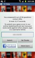 Screenshot of TV Trivia