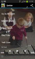 Screenshot of Ninniler Ve Çocuk Şarkıları