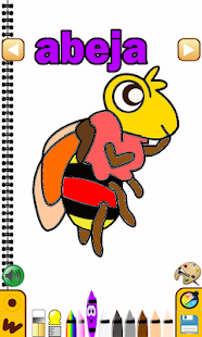 Spanish Coloring Book - screenshot