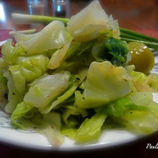 Five Minute Sweet Peppered Cabbage