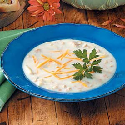 Easy New England Clam Chowder