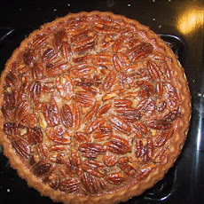 Pecan Pie With Bourbon Creme