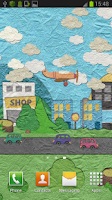 Screenshot of Paperland Live Wallpaper