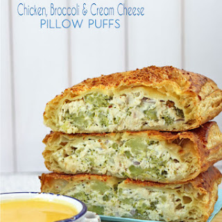 Chicken, Broccoli & Cream Cheese Puffs