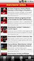 Screenshot of Manchester United: FanZone