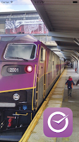 Screenshot of T-on-Time Boston Commuter Rail