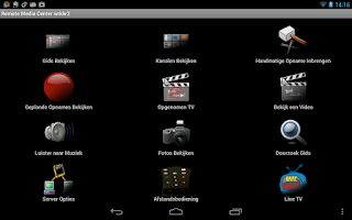 Screenshot of Remote Media Center HD