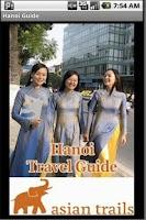 Screenshot of Hanoi Travel Guide
