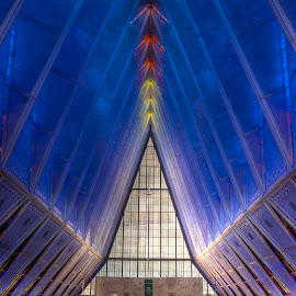 Air Force Academy Chapel by Rob Andzik - Buildings & Architecture Other Interior ( church, air force, colorado, chapel, academy )
