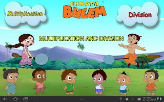 Screenshot of Fun Math with Chhota Bheem