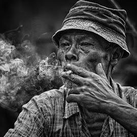 by Abhi Yasa - People Portraits of Men