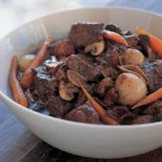 Beef Stew with Bacon