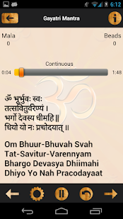 Various Gayatri Mantras - screenshot