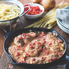 Herbed Chicken & Tomatoes