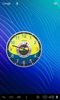 Screenshot of Fenerbahçe Analog Clock Widget