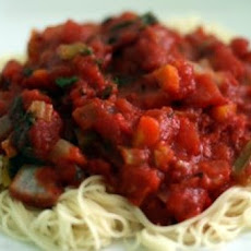 Vegetable Spaghetti Sauce