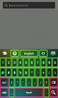 Screenshot of Color Neon Keypad