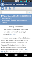 Screenshot of JW.org Podcast (deutsch)