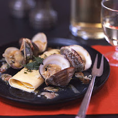 Pumpkin Cannelloni with Clams and Sage Brown Butter