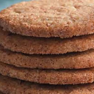 Pecan-Cinnamon Wafers