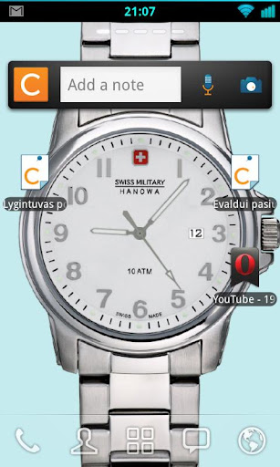 Swiss Army Desktop Watch