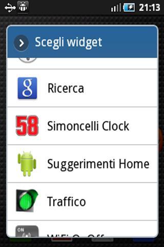 Orologio Simoncelli Widget