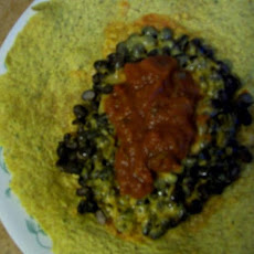 Black Bean and Cheesy Burrito - Ww