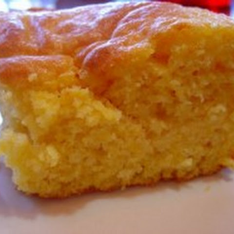 Cornbread with Yellow Cake Mix