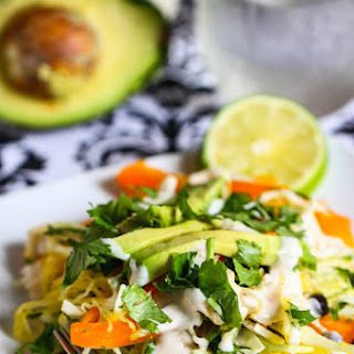 Southwestern Chicken and Spaghetti Squash Salad