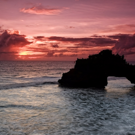 Sunset  by Ferdinand Ludo - Landscapes Sunsets & Sunrises ( sunset, bali indonesia )