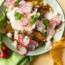 Chilaquiles with Salsa Verde