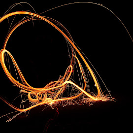 by Jon Kowal - Abstract Fire & Fireworks
